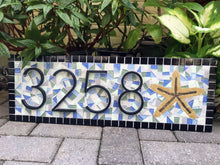 Realtor Closing Gift, House Number Sign, Green Street Mosaics