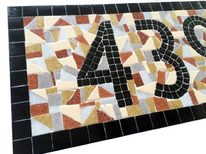 House Numbers, House Number Sign, Green Street Mosaics