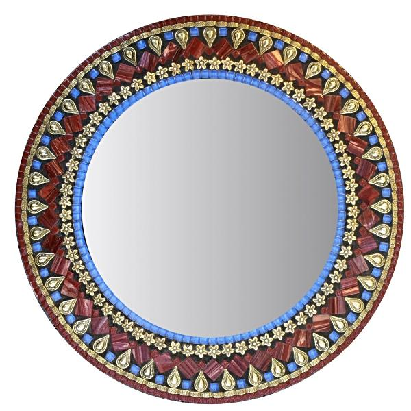 Fancy mosaic mirror