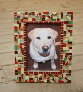 Mosaic Picture Frame, Picture Frame, Green Street Mosaics