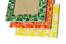 Mosaic Picture Frame, 4 x 6  - You choose the color, Picture Frame, Green Street Mosaics