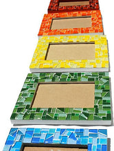 Mosaic Picture Frame 5 x 7, Picture Frame, Green Street Mosaics