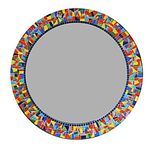 Rainbow Mosaic Mirror