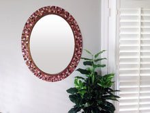 Custom Mosaic Wall Mirror, OVAL Mosaic Mirror, Green Street Mosaics