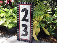 Mosaic House Numbers, House Number Sign, Green Street Mosaics