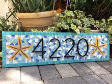 Address Sign with Starfish
