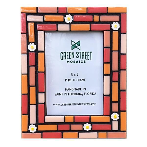 Gift Idea for Mom!, Picture Frame, Green Street Mosaics