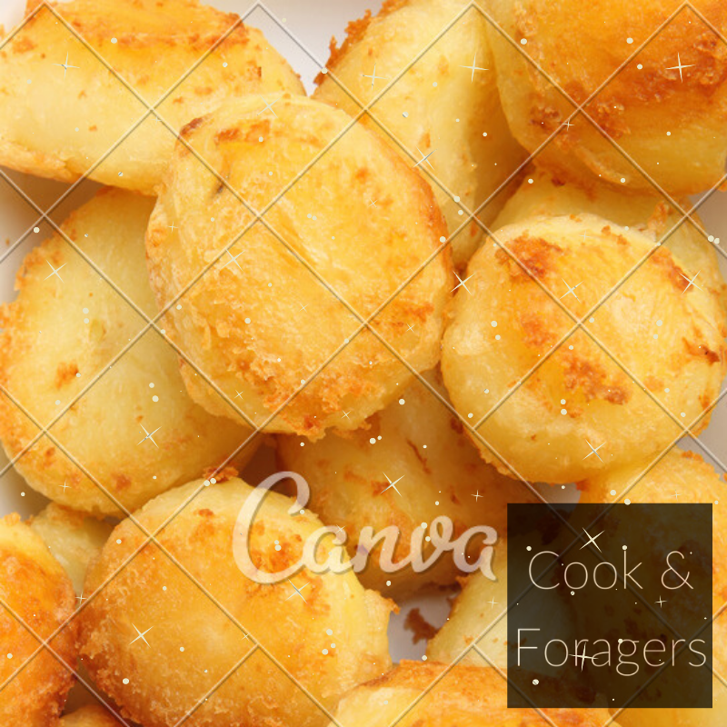 Roast Potatoes (Serves 2)