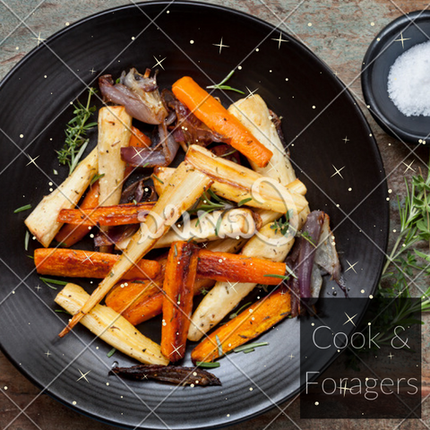 Roast Root Veggies (Serves 2)