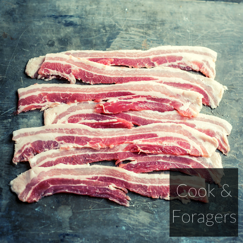Dry-cured Streaky Bacon (Unsmoked)