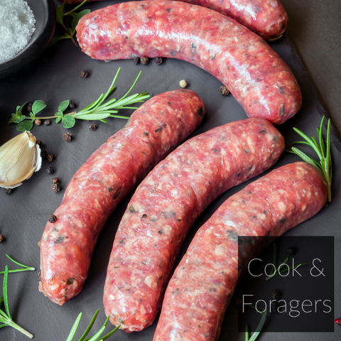 Winter Spiced Plum Pork Sausage (GF)
