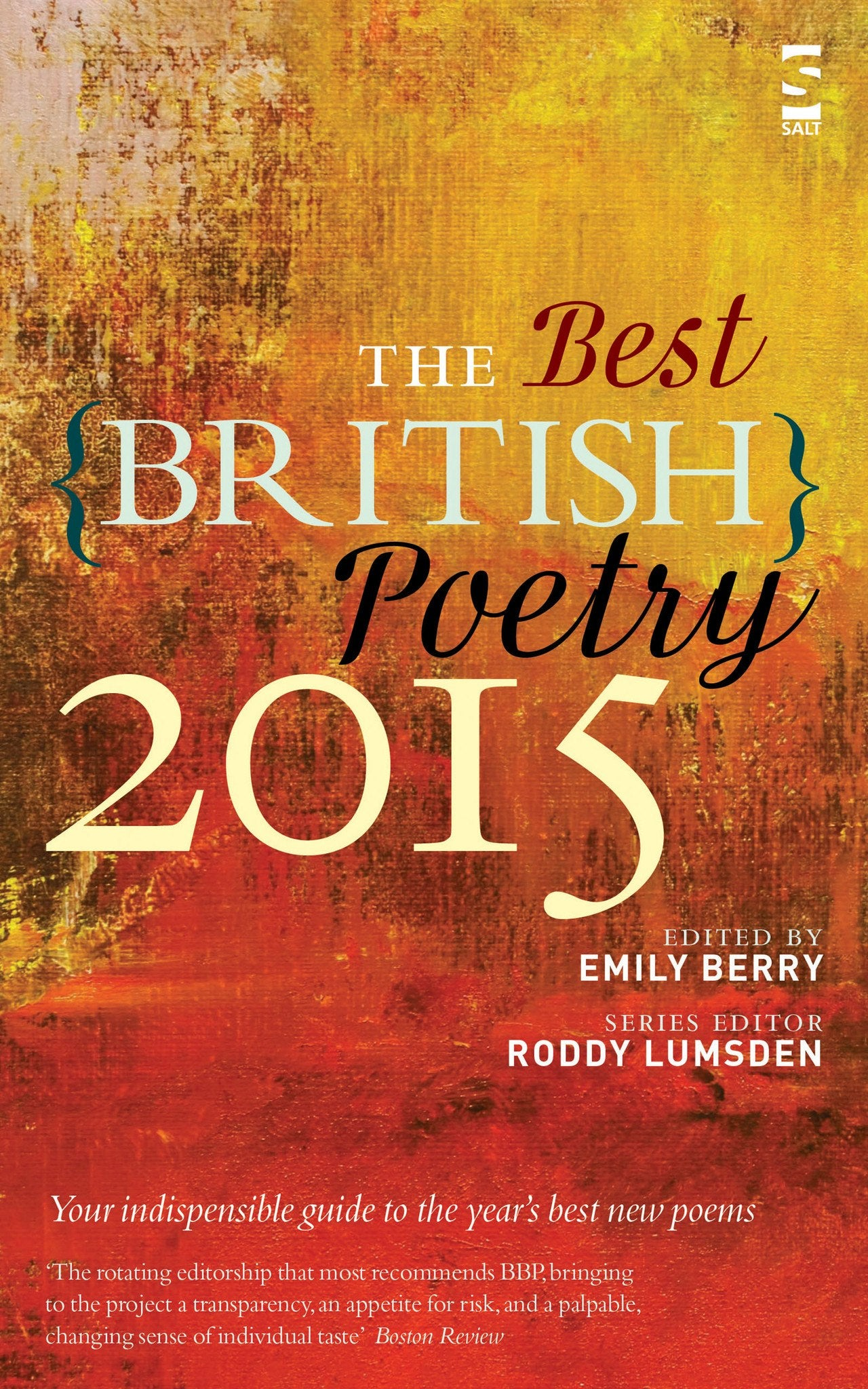 Best British Poetry 2015 By Emily Berry