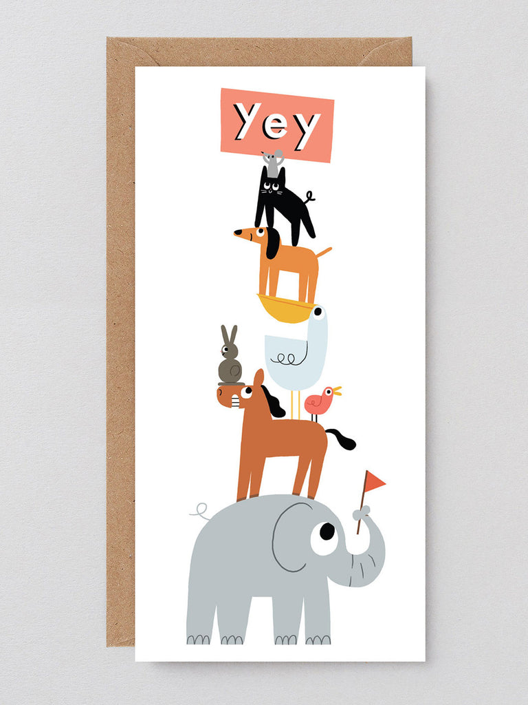 Yey Animals Card