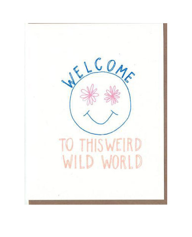 Weird Wild World Card