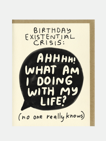 Birthday Existential Crisis