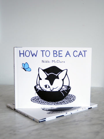 How To Be A Cat - Board Book