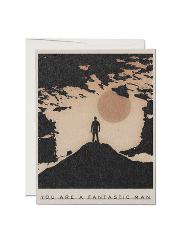 Fantastic Man Card