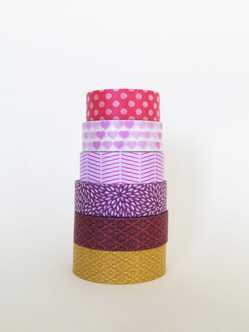 Washi Tape - Warm Colors!