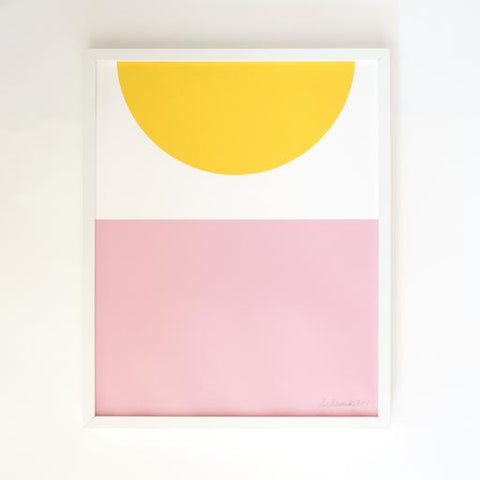 Sunrise Screenprint