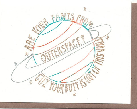 Outer Space Card