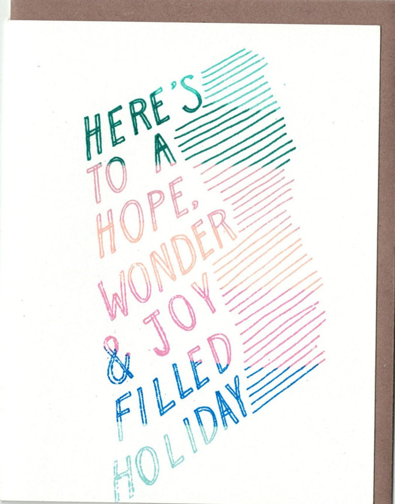 Hope Filled Holiday Card