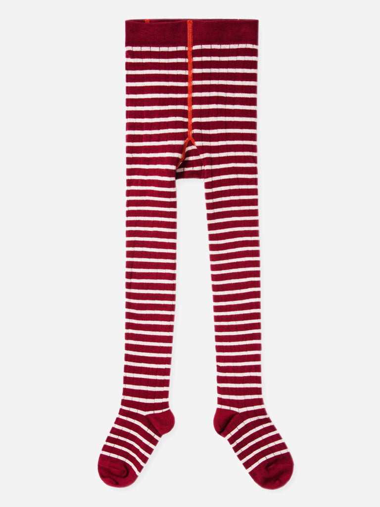 Rib Striped Tights