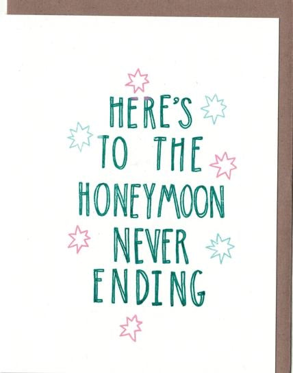 Neverending Honeymoon Card