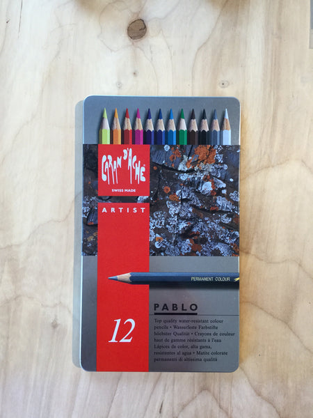Colored Pencil Set - Caran D'Ache