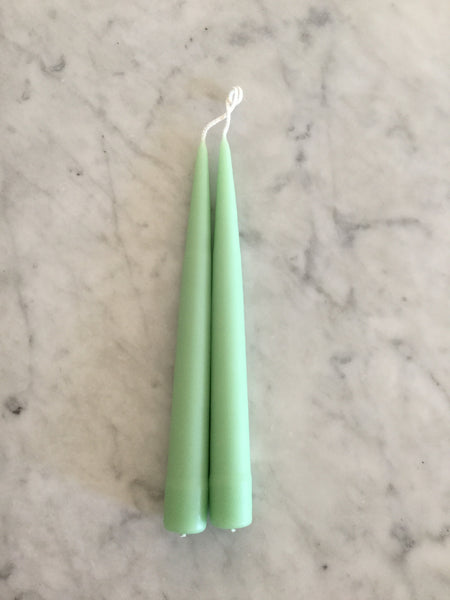 Hand Dipped Tapers - Cool Colors