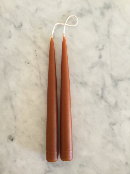 Hand Dipped Tapers - Warm Colors