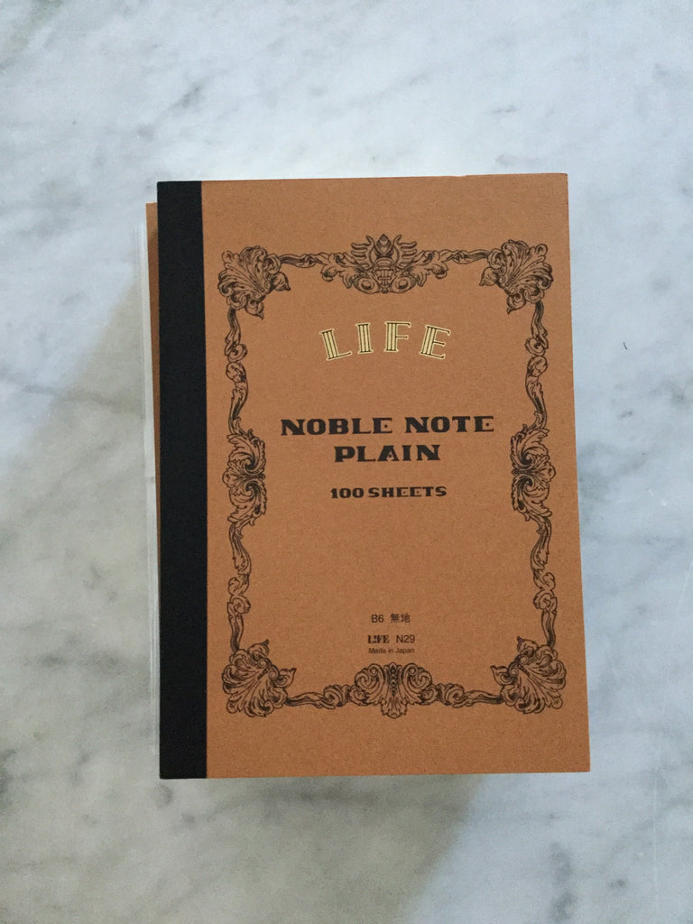 Life Noble Notebook - B6