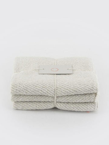 Cotton Cloths - Set of Three - Natural
