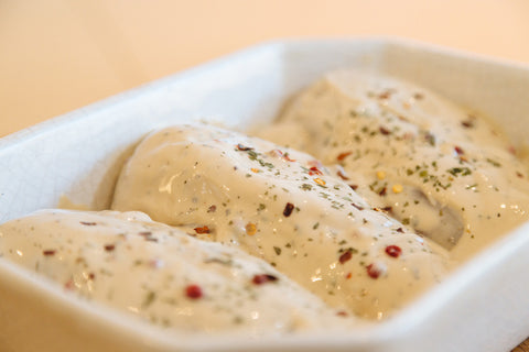 CREAMY CHICKEN PEPPERCORN