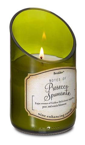 zc- WINE BOTTLE PROSECCO SCENTED CANDLE **FreeShipping*