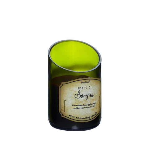 ze1- WINE BOTTLE SANGRIA SCENTED CANDLE **FreeShipping**