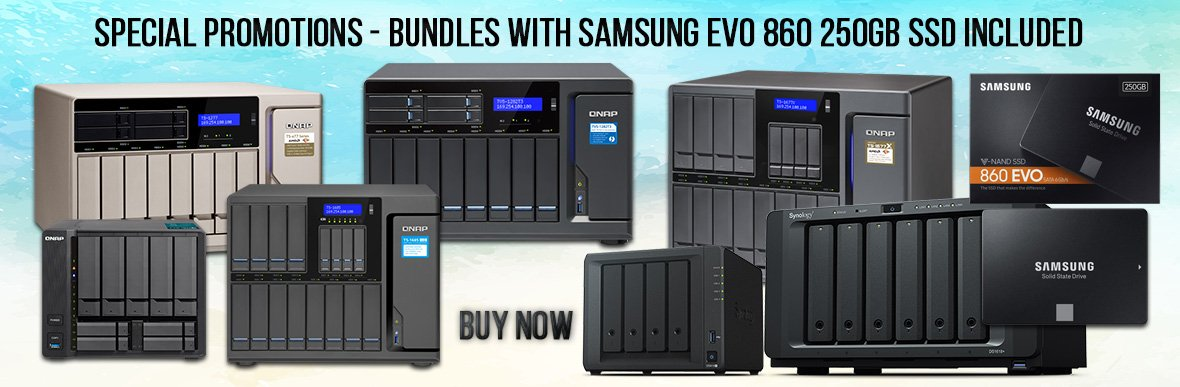 Samsung EVO 860 250GB Bundles from SimplyNAS Business
