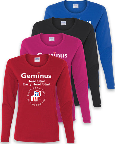 Geminus Ladies Long Sleeve T-Shirt EHS/HS