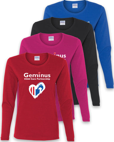 Geminus Ladies Long Sleeve T-Shirt CCP