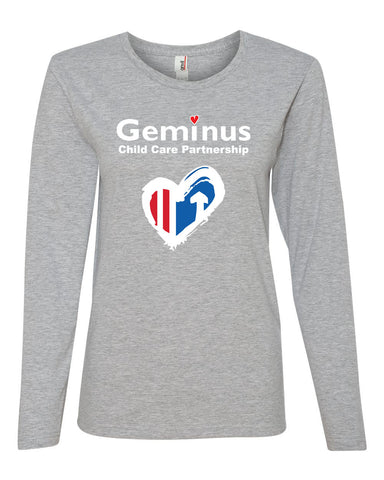 Geminus Womens Ringspun Long Sleeve