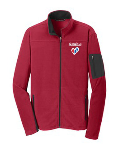 Mens Fleece Full-Zip Jacket (CCP) - $36.25