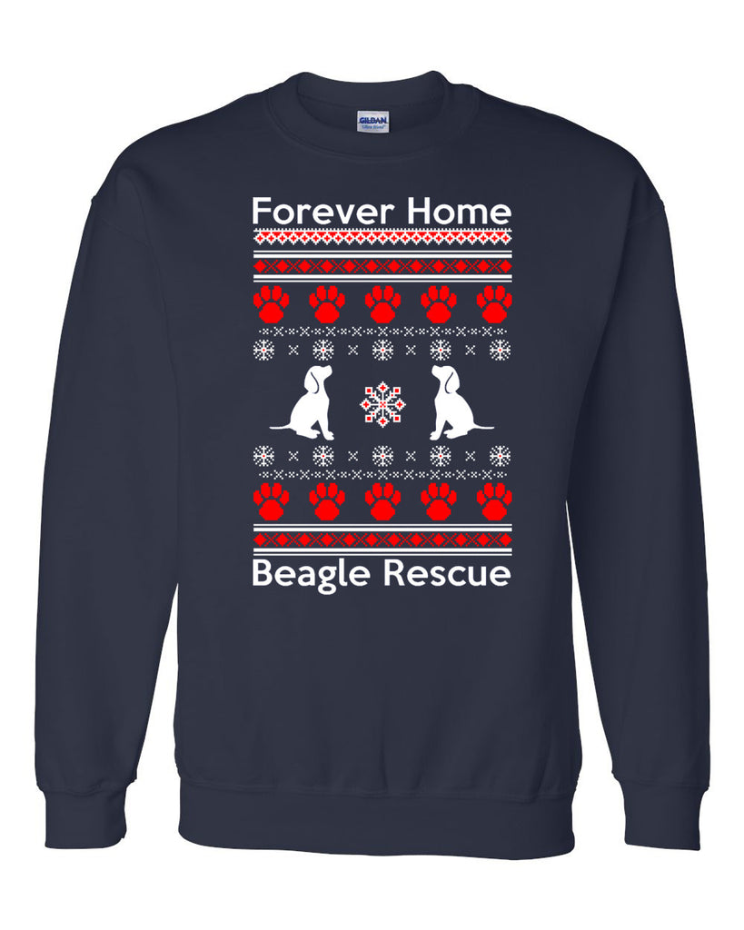 Forever Home Beagle Rescue - Ugly Holiday Sweaters