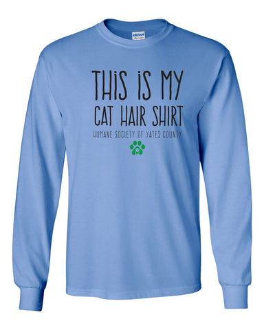 Humane Society of Yates County - Cat Hair Shirt