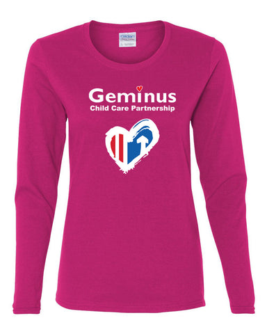Ladies Long Sleeve T-Shirt (CCP) - $10.00