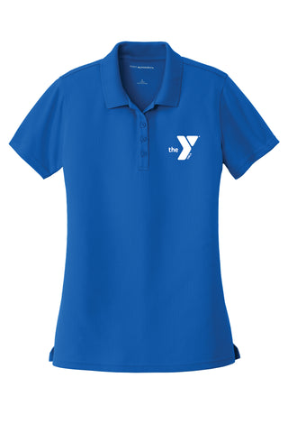 YMCA - Port Authority® Ladies Dry Zone® UV Micro-Mesh Polo