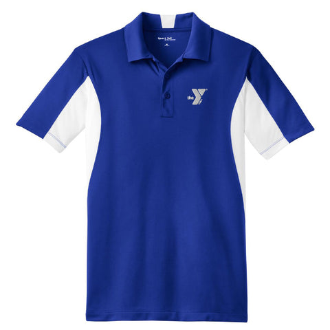 YMCA - Sport-Tek® Side Blocked Micropique Sport-Wick® Polo