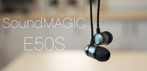 soundmagic e50s in-ear headphones