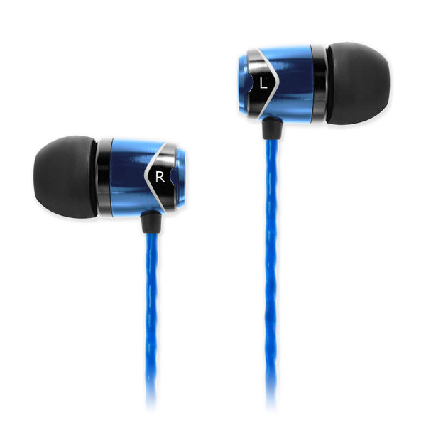 SOUNDMAGIC E10 IN EAR ISOLATING EARPHONES, BLUE - Refurbished