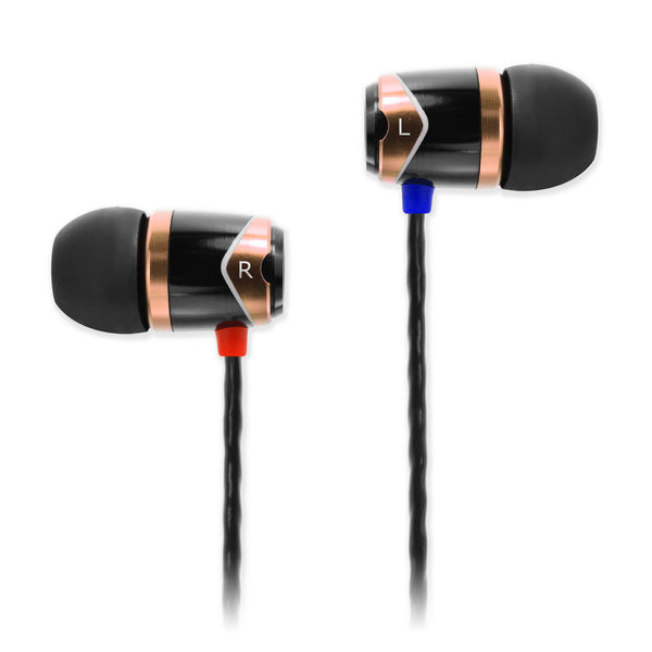 SOUNDMAGIC E10 IN EAR ISOLATING EARPHONES, GOLD - Refurbished
