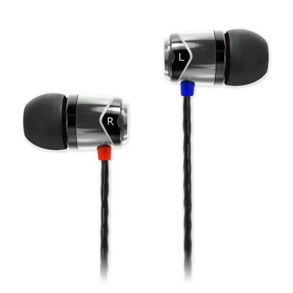 SOUNDMAGIC E10 IN EAR ISOLATING EARPHONES, SILVER - Refurbished