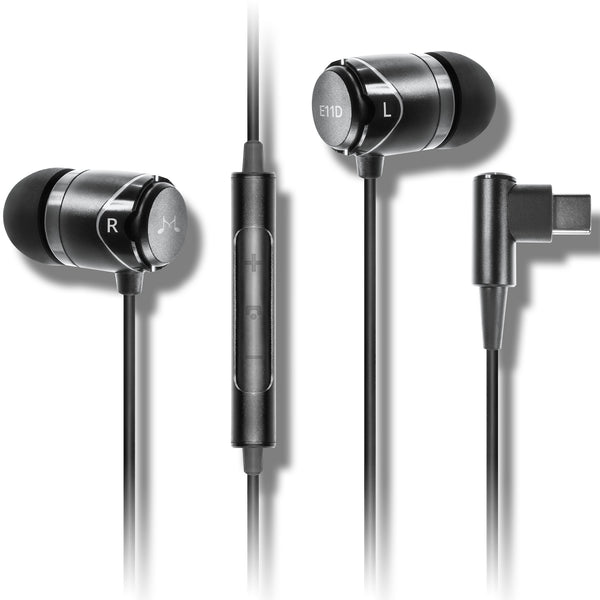 SoundMAGIC E11D In Ear Isolating USB-C Earphones with DAC - SoundMAGICheadphones.com